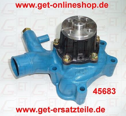 45683 Wasserpumpe geeignet für Gabelstapler Toyota 2FDA30 Motor 2H